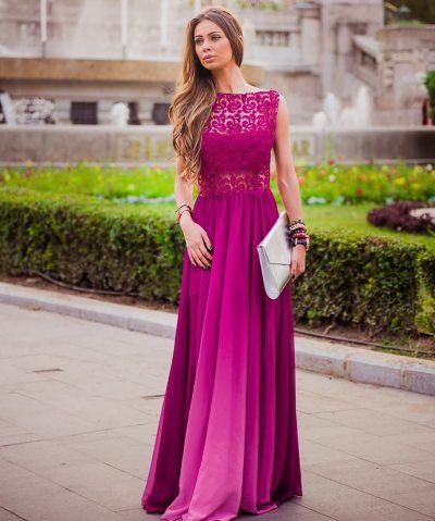 Rochie Lunga de Printesa din Materiale de Calitate Premium Dress Scarlett
